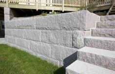 Benders Kvadermur - rustik granit