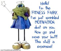 picture fitness qoutes   was thinking that Monday is always a great day to start something ...