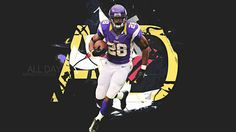 adrian peterson backround for desktops - adrian peterson category