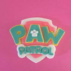 A personal favorite from my Etsy shop https://www.etsy.com/listing/293751141/pink-paw-patrol-inspired-fondant-cake