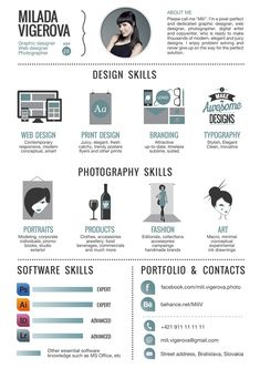 Design Resume    Interesting Resumes    Graphic