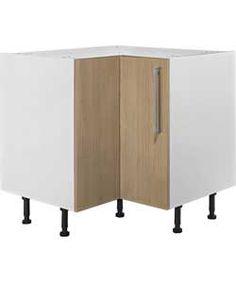 Buy Hygena Valencia 935mm Corner Base Unit - Oak at Argos.co.uk, visit Argos.co.uk to shop online for Kitchen base units