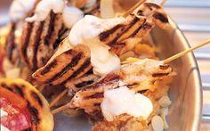Marinerad fläskkarré med jordnötssås Waffles, Healthy Eating, Healthy Recipes, Meat, Breakfast, Food, Life, Grilling, Eating Healthy