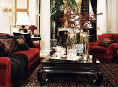 "Ralph Lauren Home Archives, ""Noble Estate"" Living Room"