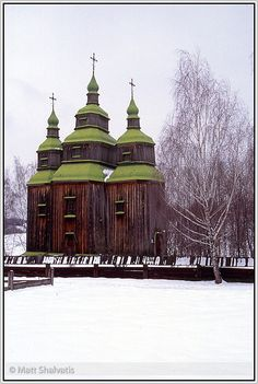 Old Church, Pirogovo, Ukraine. Очень здорово!