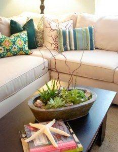 succulent table top garden