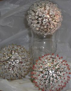 Bead and Sequin Ornamental Balls - CraftStylish