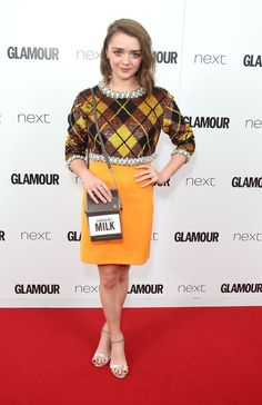 Maisie Williams aux Glamour Women of the Year Awards