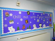 Chill out with a good book bulletin Board