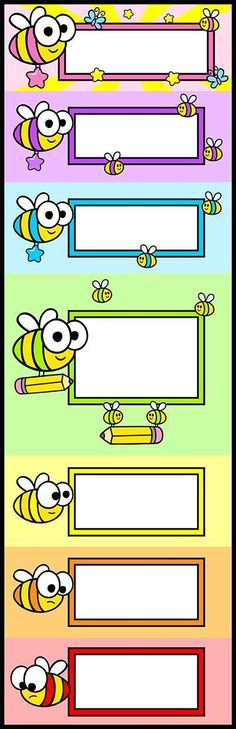 Classroom Labels, Classroom Bulletin Boards, Classroom Rules, Classroom Decor, Book Labels, School Frame, Borders For Paper, School Decorations, Kids Education