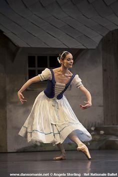 """danseurprincipal: """" Anna Tsygankova as Giselle, Het Nationale Ballet """""""