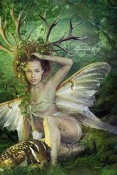 Totem Spirit Deer by Ellyevans679 on deviantART