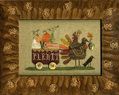 Delivering Plenty by Homespun Elegance chart $7.00 on ABC Stitch Therapy at http://www.abcstitch.com/designers_php/designers.php?page=5=Homespun+Elegance=