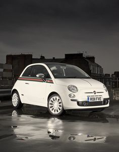 Fiat 500 by Gucci    Photo credits: http://www.flickr.com/photos/olgunkordal