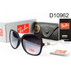 8fd593b130b8 Ray Ban Sunglasses Jackie Ohh Black White Frame Ray Ban Sale