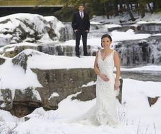 What a couple to end the year with! Katy and Brett and their family were fabulous and fun. And look at that bride braving Jackson Falls bare-armed in the middle of winter; that takes a lot of discipline. And love! Awww….. (Photo: Jay Philbrick Photography)