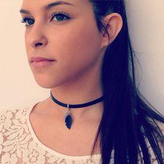 Black Choker Day Collar Black Choker Day Collar by KerenMekler