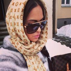 louis vuitton head scarf - gorg