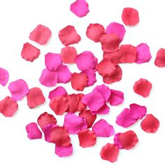 Beautiful silk rose petals! Perfect for your wedding aisle or centerpiece table scatter. #diywedding