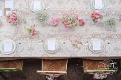 Jessica Frey Photography, mink and pink wedding