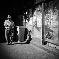 Luisón: Street Photography in BW. Madrid (1). January 2015...