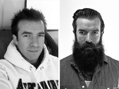Today's lesson? Do yourself a favor and get a beard. | This Man Got Stupidly Hot After He Spent A Year Growing A Beard