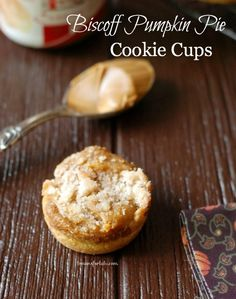 Biscoff and Pumpkin Pie Cookie Cups - Lemons for Lulu