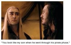 lol because orlando bloom played legolas and a guy on pirates of the carrabean i have seen it it is soooo good