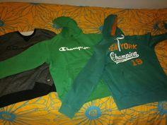 My 3 favorite champions Champion crewneck 80€ Champion hoodie 110€ Champion hoodie 60€
