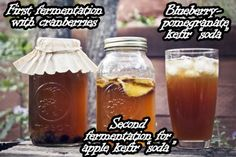 some great water kefir recipes and instructions