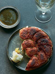 【ELLE a table】ドライパイナップルの焼き餃子レシピ エル・オンライン