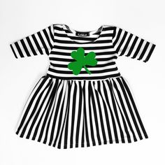 St. Patrick's Day Dress, Baby Clothes, Toddler Clothes, Baby Dress, Toddler Dress, Baby Outfit, Toddler Outfit, Baby Girl, Baby Shower Gift, Baby Gift, Holiday Dress
