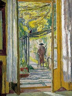 'Dorothy Bussy at La Souco' by Vanessa Bell. Charleston