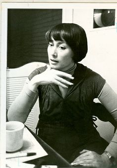 C J Cherryh, science fiction writer.
