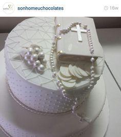 First communion celebration cake