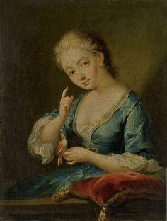 MARIE-HENRIETTE BERTHELOT DE PLENEUF, MARQUISE DE PRIE