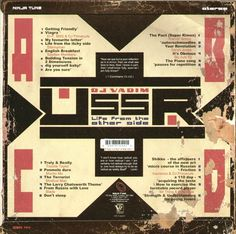 DJ Vadim - U.S.S.R. Life From The Other Side (Vinyl, LP, Album) at Discogs