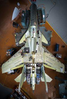 Sukhoi jet in progress Air Fighter, Fighter Pilot, Fighter Aircraft, Fighter Jets, Military Jets, Military Aircraft, Sukhoi Su 30, Photo Avion, Military Pictures