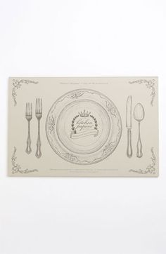 Kitchen Papers by Cake Perfect Setting Paper Placemat Pad available at #Nordstrom