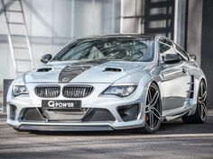 A German tuning company has turned out a bespoke BMW boasting horsepower on a par with a Bugatti Veyron. Bmw M6, 3 Bmw, Bugatti Veyron, Bmw Autos, Audi Tt, Super Sport, Ford Gt, Peugeot, Tuning Bmw