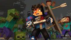 (12) minecraft zené - YouTube