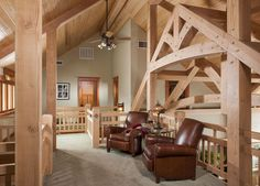 PrecisionCraft - beautiful timber frame structure and timber quality