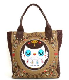 I am in love with this bag!!  65 - CROWDED TEETH OWL TOTE Owl d87c1c1da557e