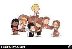 The Charlie Browncoats. peanuts makes everything even better than it already is.