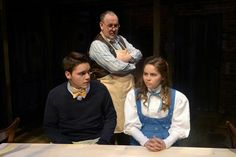 George and Emily- Our Town Our Town, Costume Design, Theatre, Drama, Kid, Costumes, Child, Apparel Design, Dress Up Clothes