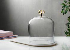 Joe Doucet and Pentagon Design create carafe and cupolas for Nude glassware