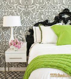 15 лучших ярких спален (выбор ТUTdizain.ru) » Дизайн & Декор своими руками