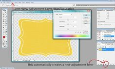 tutorial photoshop  change background color  hue/saturation adjustment