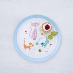 Cat's Life Melamine Plate