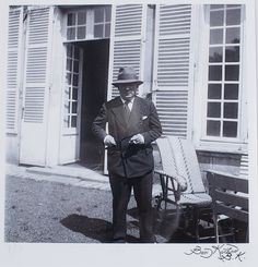 Boris KOCHNO (1904-1990)  Picasso dans son chateau, 1930 Gelatin silver print, signed lower right, numbered 9/10 lower left, and monogrammed on the reverse  10.75 x 11 in. - 27 x 28 cm.  Provenance  Julian Barran London